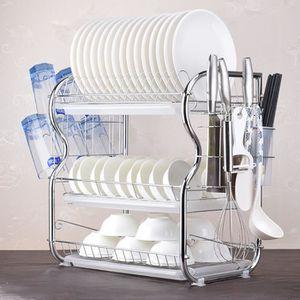 EGOUTTOIR À COUVERTS 3 niveaux Etendoir vaisselle Cuisine Collection ét
