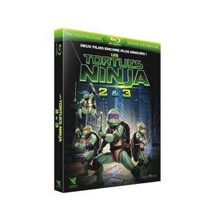 BLU-RAY FILM Coffret les tortues ninja 2 et 3 [Blu-ray]