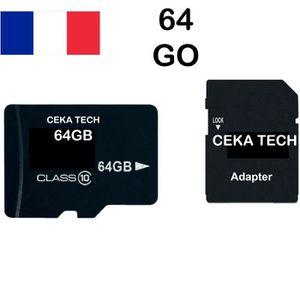 CARTE MÉMOIRE Carte Mémoire compatible Samsung Galaxy S6 Edge Pl