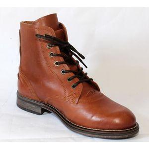 Levi's - Boots / Bottines en cuir - Camel 4ELs27ww