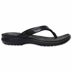 TONG Chaussures femme Sandalettes et tongs Crocs Capri