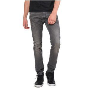 9aa0363aa60 Jeans gris homme - Achat   Vente Jeans gris Homme pas cher - French ...