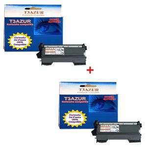 TONER TN2220 - 2 Toners Brother MFC-7360N - MFC-7460DN -
