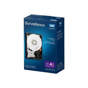 DISQUE DUR INTERNE WD Purple Kit Disque dur interne Surveillance 4 To