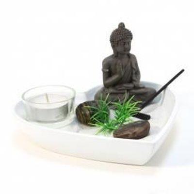 Jardin zen coeur - Blanc - Objet de décoration... - Achat / Vente ...