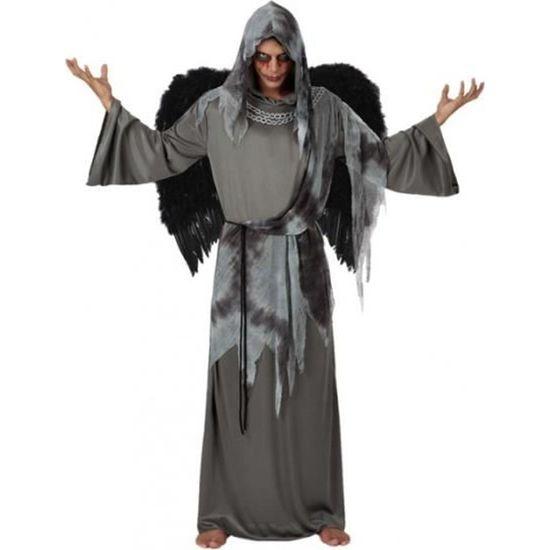 Image D Ange Homme atosa déguisement d'ange noir homme - gris - achat / vente
