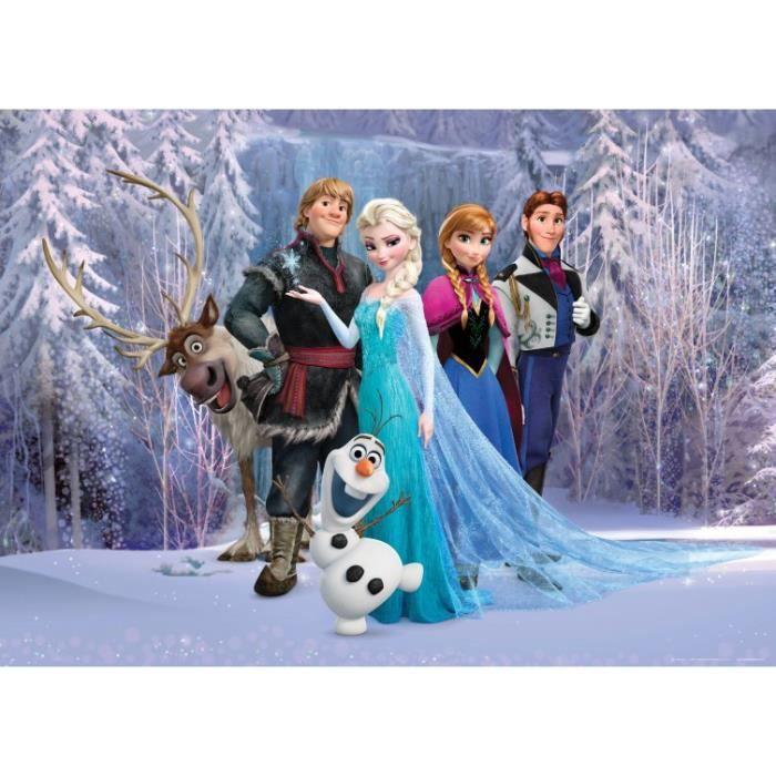 La reine des neiges papier peint photo poster achat - Personnages la reine des neiges ...