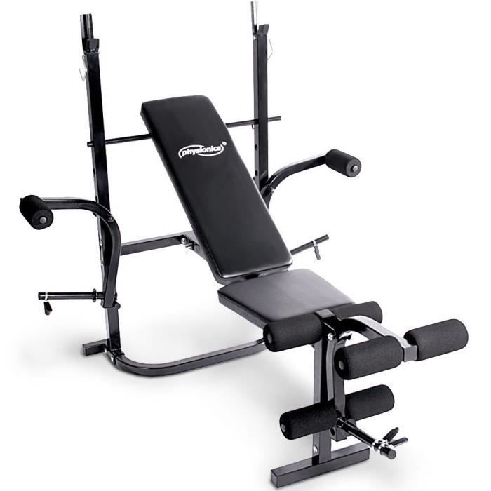 Banc De Musculation Pliable Inclinable Multifonction Myfitness