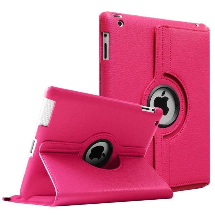 HOUSSE TABLETTE TACTILE Housse Coque Etui En Cuir Apple iPad 2 3 4 Rotativ