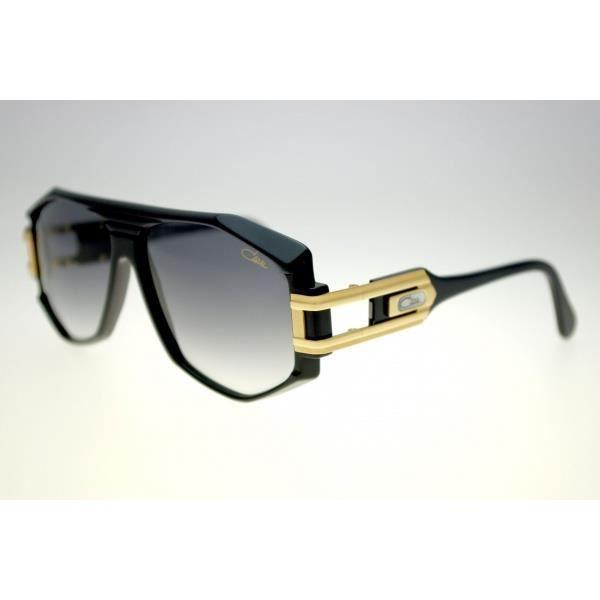 89dd42a41ed95a CAZAL 163 3 (noir et doré - dégradé gris) - Achat   Vente lunettes ...