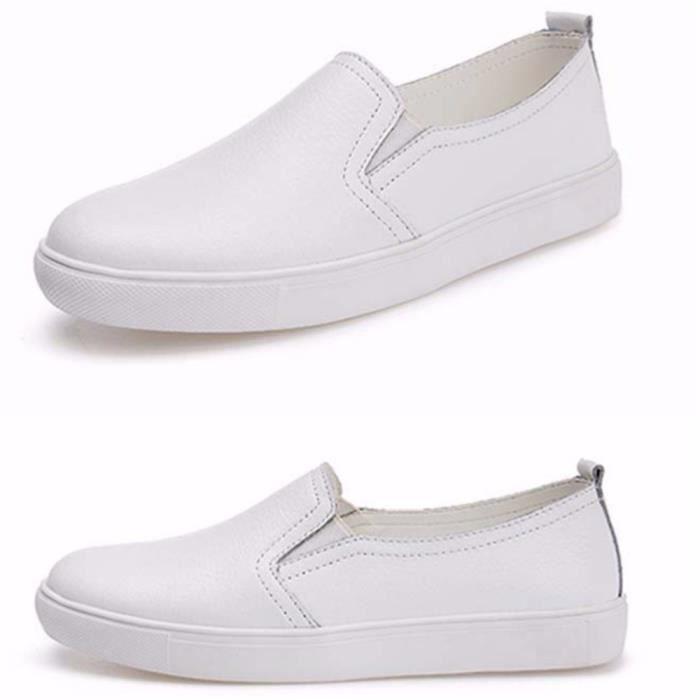 Loafer femmes Poids Léger Qualité Supérieure Respirant Moccasins Nouvelle Mode Marque De Luxe Femme Chaussure Grande Taille 40