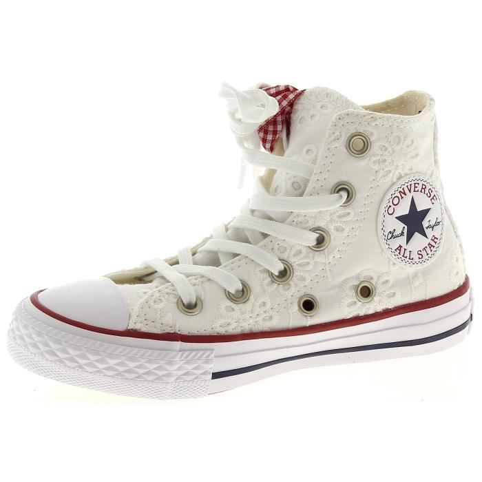 Converse Chuck Taylor All Star Baskets montantes Blanc