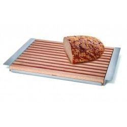 planche à pain avec plateau en inox zack - achat / vente planche a