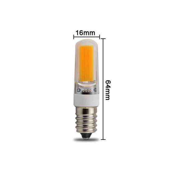 Lampe Mm E14 Cob 16 3w Blanc Led 230v Diamètre Froid KJlFc5uT13