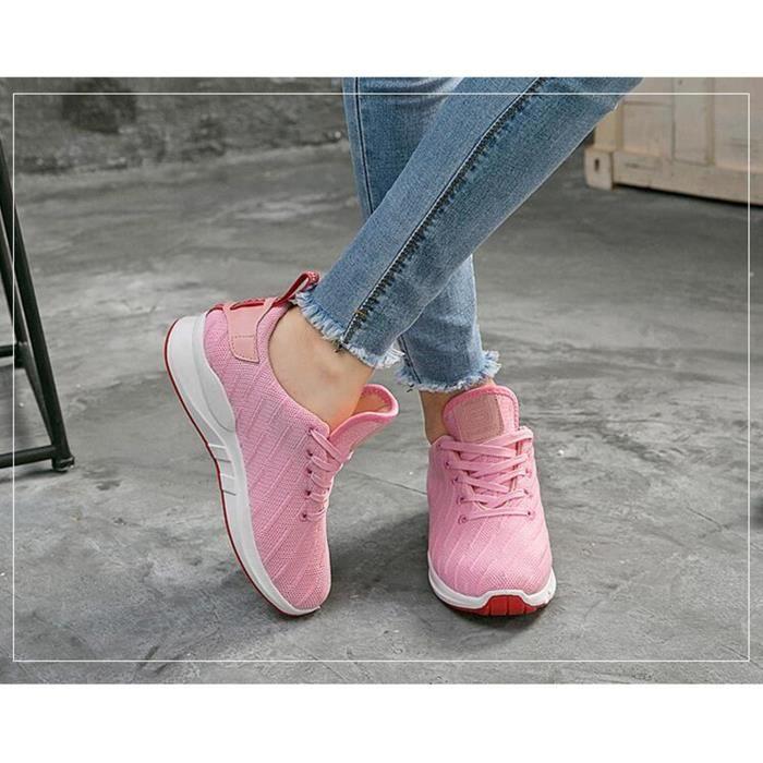 Femme printemps et automne nouvelles chaussures de sport chaussures de course KUXG2fS5