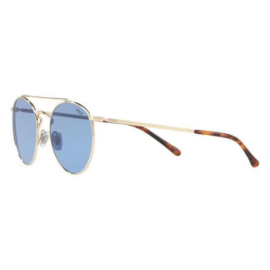 Lunettes de soleil Polo Ralph Lauren PH-3114 -911672 - Achat   Vente  lunettes de soleil Homme Adulte Doré - Soldes  dès le 9 janvier ! Cdiscount a6666d17a00