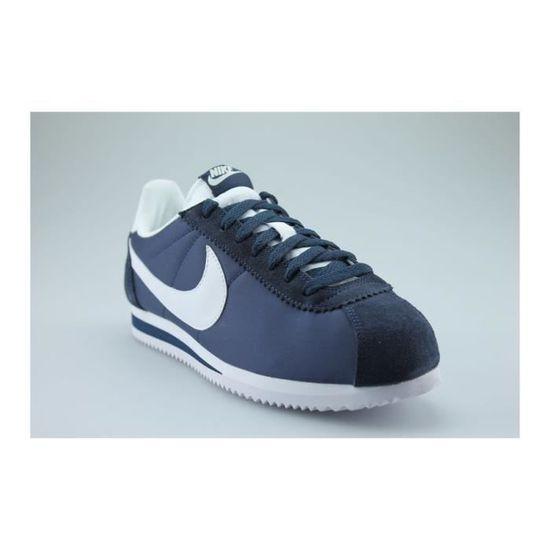 NIKE CLASSIC Bleu CORTEZ NYLON BLEU Noir Bleu CLASSIC - Achat / Vente basket 0d2b29