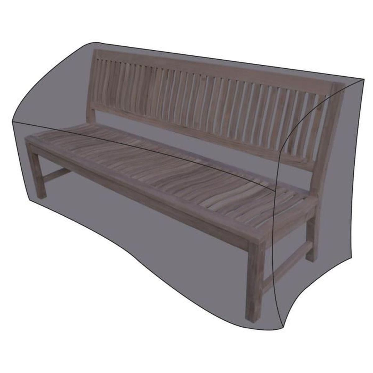Cases LEX pour des bancs de jardin, 160 x 75 x 80 cm, étui de ...