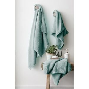 FINLANDEK Kyply Set de 2 draps de douche 70x140 cm + 1 serviette de toilette 50x100 cm - Vert de gris