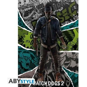 AFFICHE - POSTER Poster Watch Dogs 2 : « Marcus »