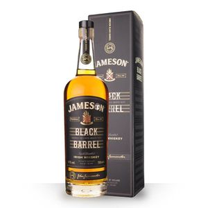 WHISKY BOURBON SCOTCH Jameson Black Barrel 70cl - Etui - Whisky Irish Bl