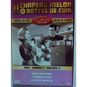 DVD SÉRIE Chapeau melon et bottes de cuir - S3 V5 - 1963 - 1