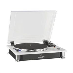 PLATINE VINYLE auna TT-933 Platine vinyle tourne-disque 2 vitesse