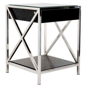 table de chevet miroir achat vente pas cher. Black Bedroom Furniture Sets. Home Design Ideas