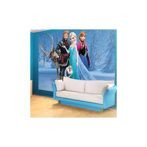 papier peint reine des neiges achat vente papier peint reine des neiges pas cher cdiscount. Black Bedroom Furniture Sets. Home Design Ideas