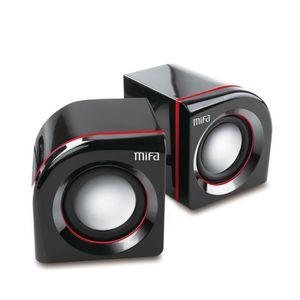 ENCEINTE NOMADE MIFA Enceinte PC Haut-parleurs Filaire stéréo 2.0