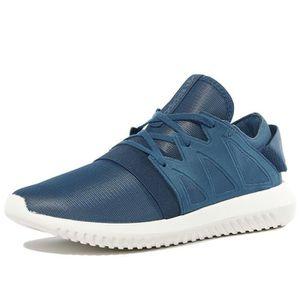 W Virales Tubulaires - Chaussures De Sport Pour Femmes / Bleu Adidas EAYs77SqPL
