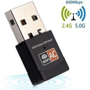 CLE WIFI - 3G Mini Clé USB WIFI Adaptateur sans fil 600Mbps 2.4