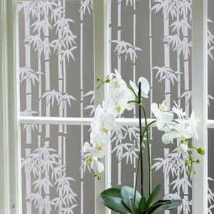 45x200cm film de la fenêtre à bambou salle de bain Chambre ...