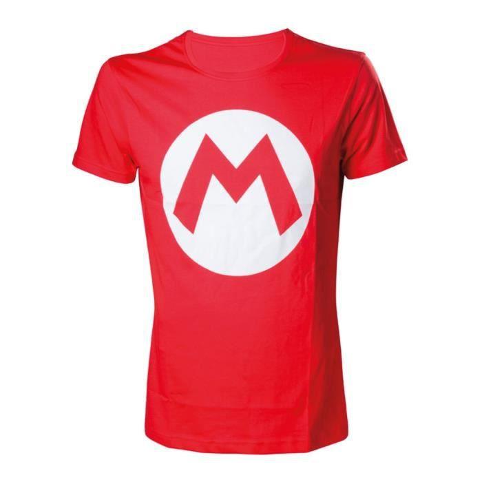 T-Shirt Mario Rouge