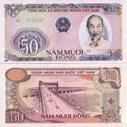 billet de banque vietnam