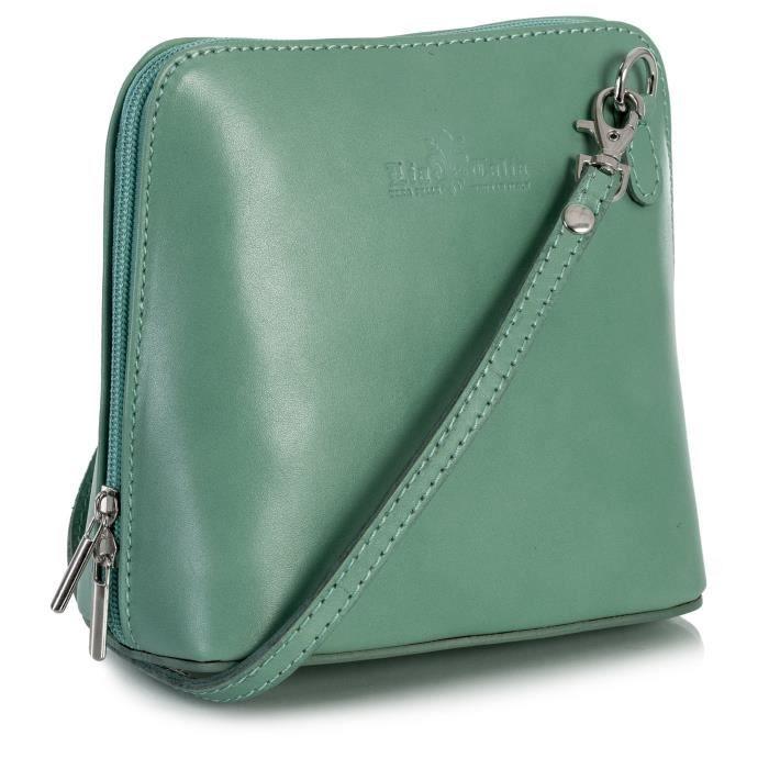 03d6e260b4 Femmes Mini cuir véritable sac à main Croixcorps italien W3W8K ...