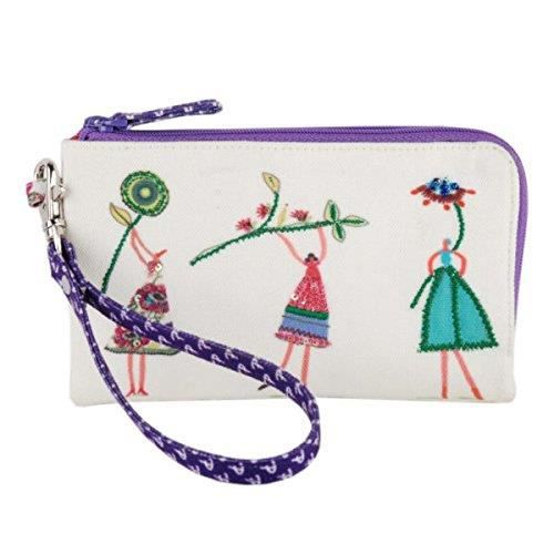 sac à main de marche multicolore brodé et embelli pour femme? ZWMTG