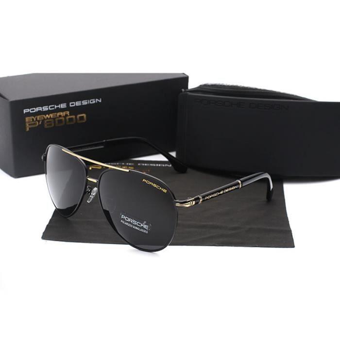 Lunettes de soleil Porsche polarisées de pêche voiture pilote miroir  lunettes de soleil hommes rétro de lunettes de soleil 7bf5a841edfa