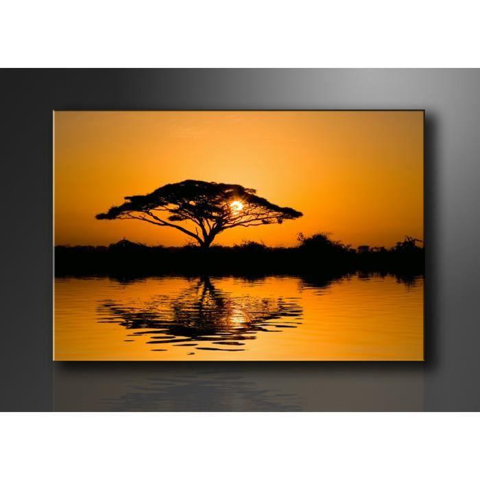 Tableau moderne imprim 120x80 cm paysage achat - Tableau imprime sur verre ...