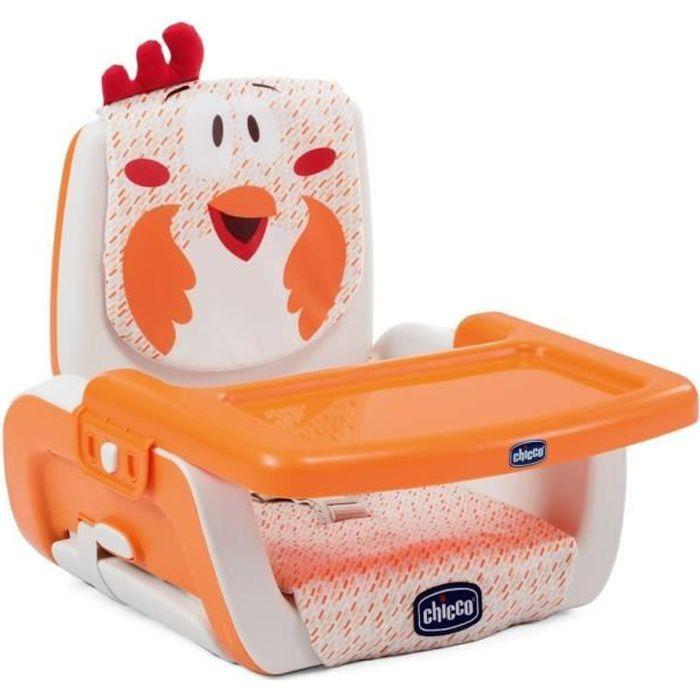 RÉHAUSSEUR SIÈGE  CHICCO Rehausseur de table Mode fancy chicken