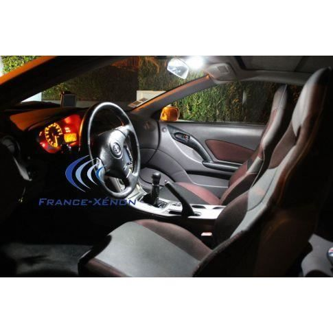 pack intrieur led toyota aygo 1 blanc