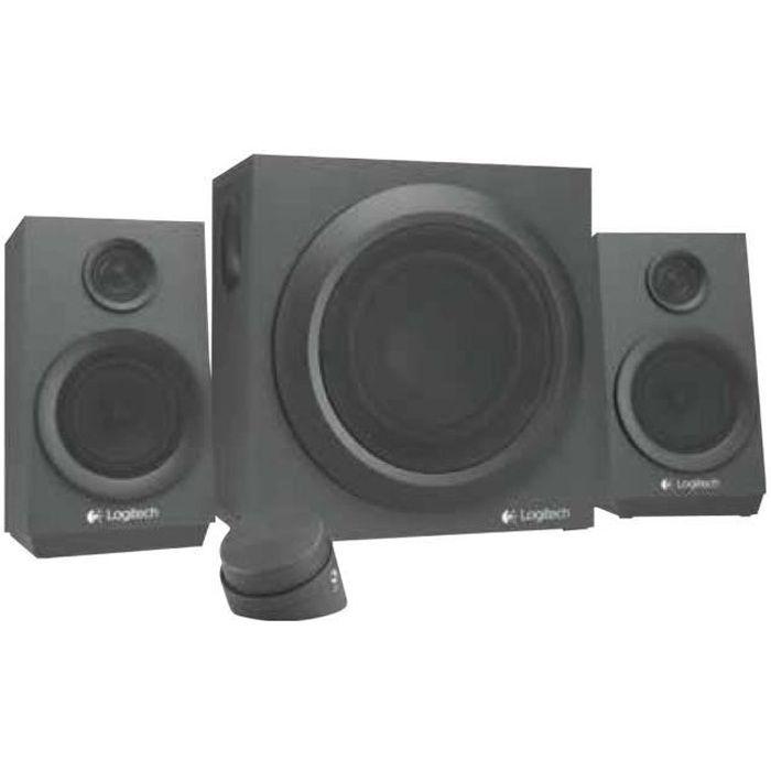ENCEINTES ORDINATEUR Logitech Z333 - Système de haut-parleur - pour PC