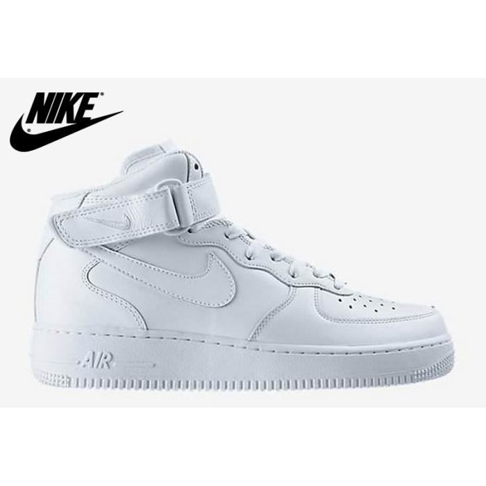 BASKET Nike Air Force 1 '07 MID Blanche haute