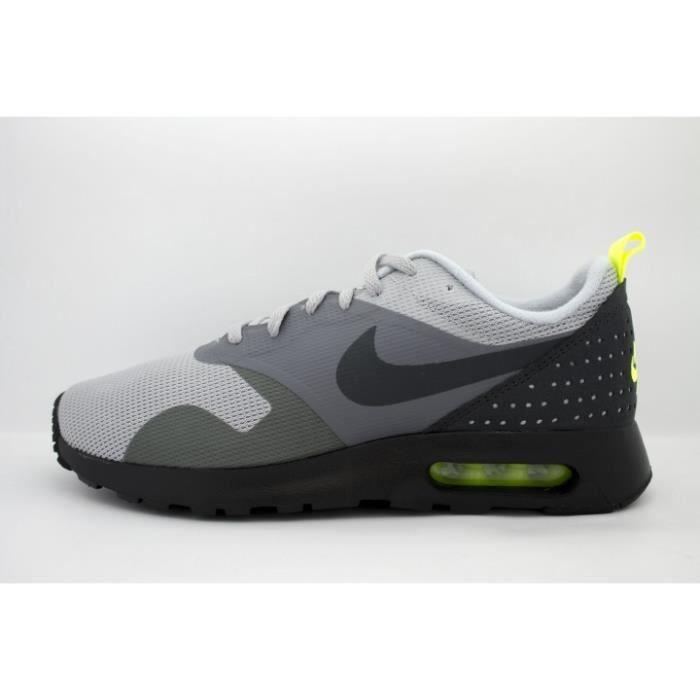6286a99ba36 Nike Air Max Tavas Grise Volt Green Gris - Achat   Vente basket ...