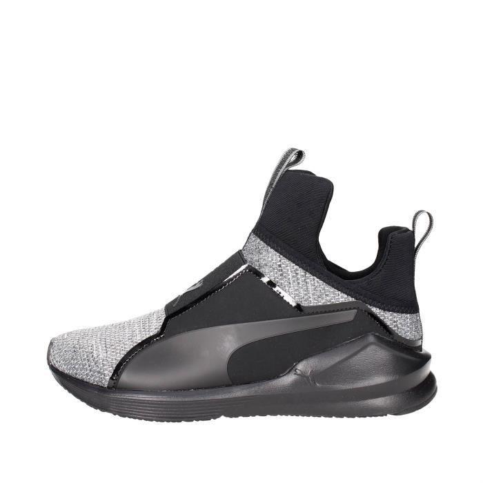 Puma Sneakers Femme Noir/Gris, 39