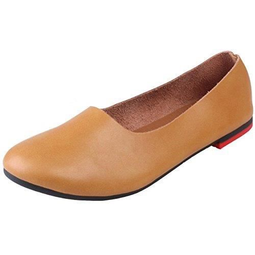 OZKEC en Slip Taille cuir plates 40 Mocassins On Chaussures Y7qaOwxS