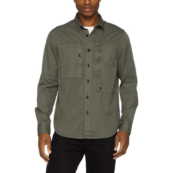 Taille 1lyd9v Raw L S Chemise Powel Casual S Shirt Star Homme G xfvq1Ux