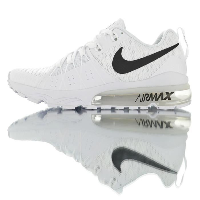 Baskets Nike Air Max Sequent Flyknit Chaussure pour Homme Femme Blanc