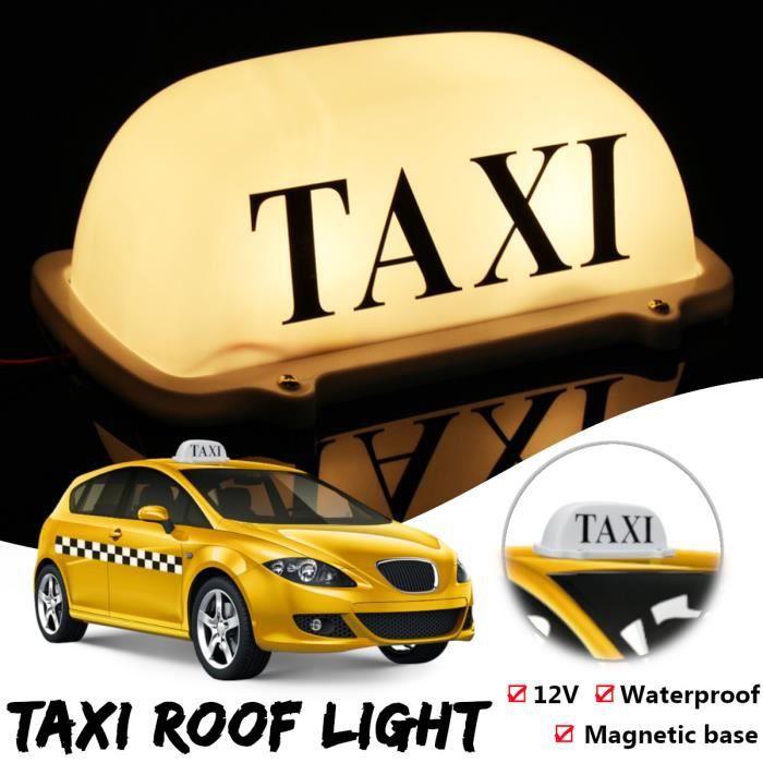 Led Lampe Toit Base Voiture Témoin Haut Dc 12v Auto T4w Magnétique Taxi srhdCxtQ