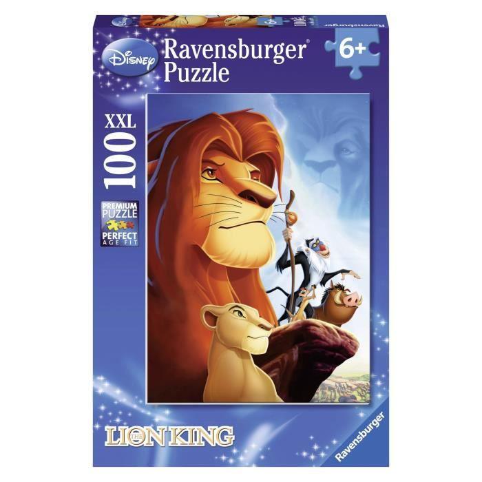 PUZZLE LE ROI LION Puzzle 100 pcs - Disney